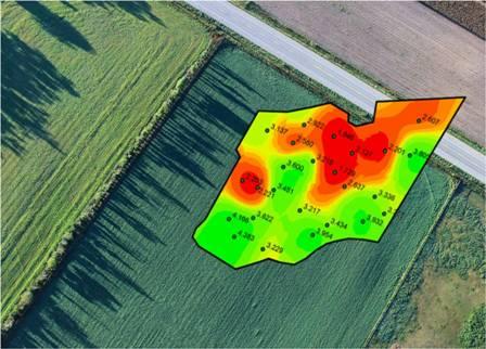 analisi del suolo gis ndvi