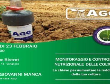 Incontro tecnico sul Controllo nutrizionale delle colture