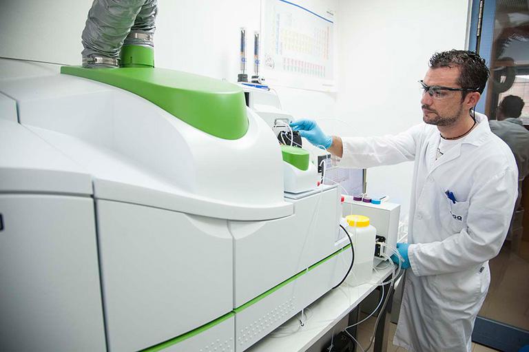 laboratorio specializzato in nutrizione vegetale